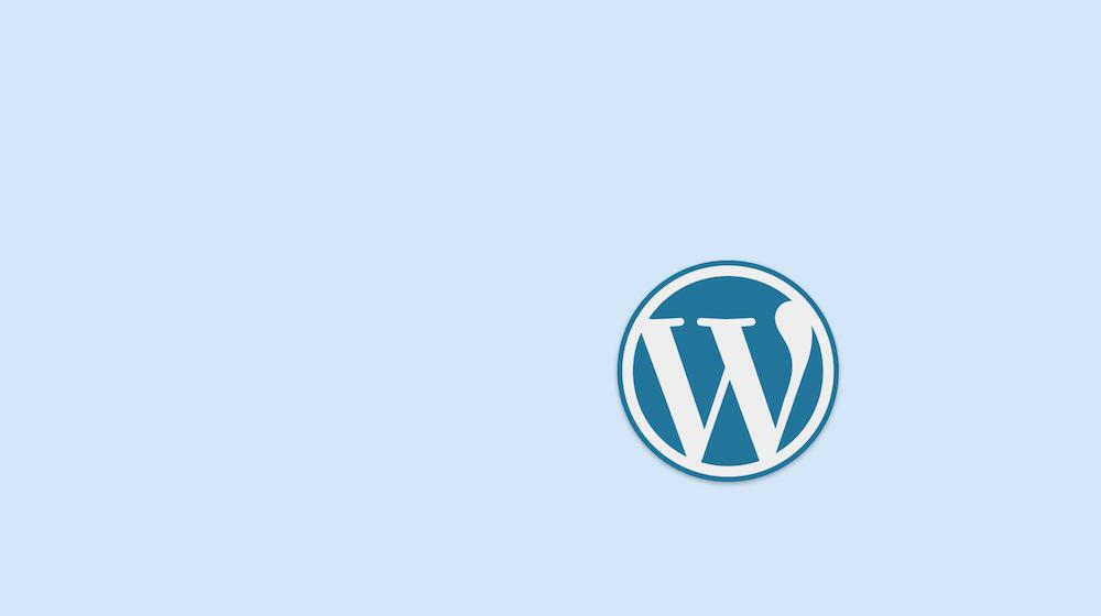 Logo WordPress warna Cerah 2014