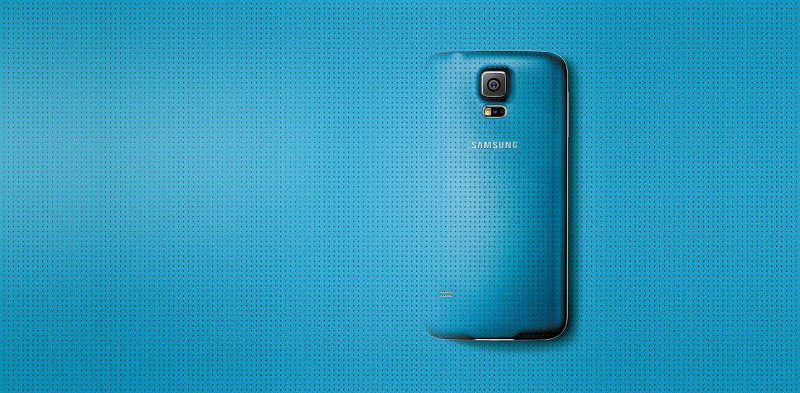 Samsung Galaxy S5 Warna Electric Blue