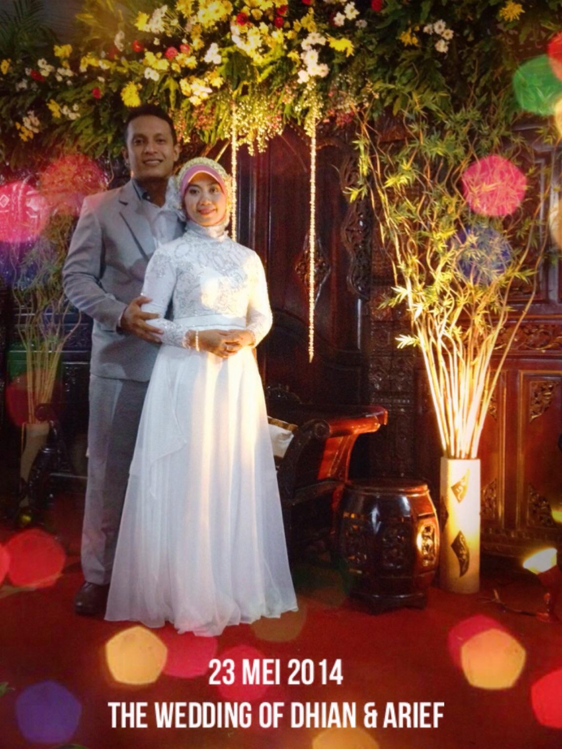 Ardhian Arista & Arief Setiawan Budiarto Wedding