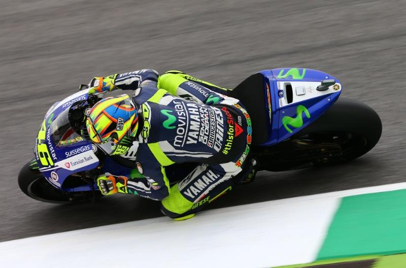 Balapan MotoGP Valentino Rossi Mugello