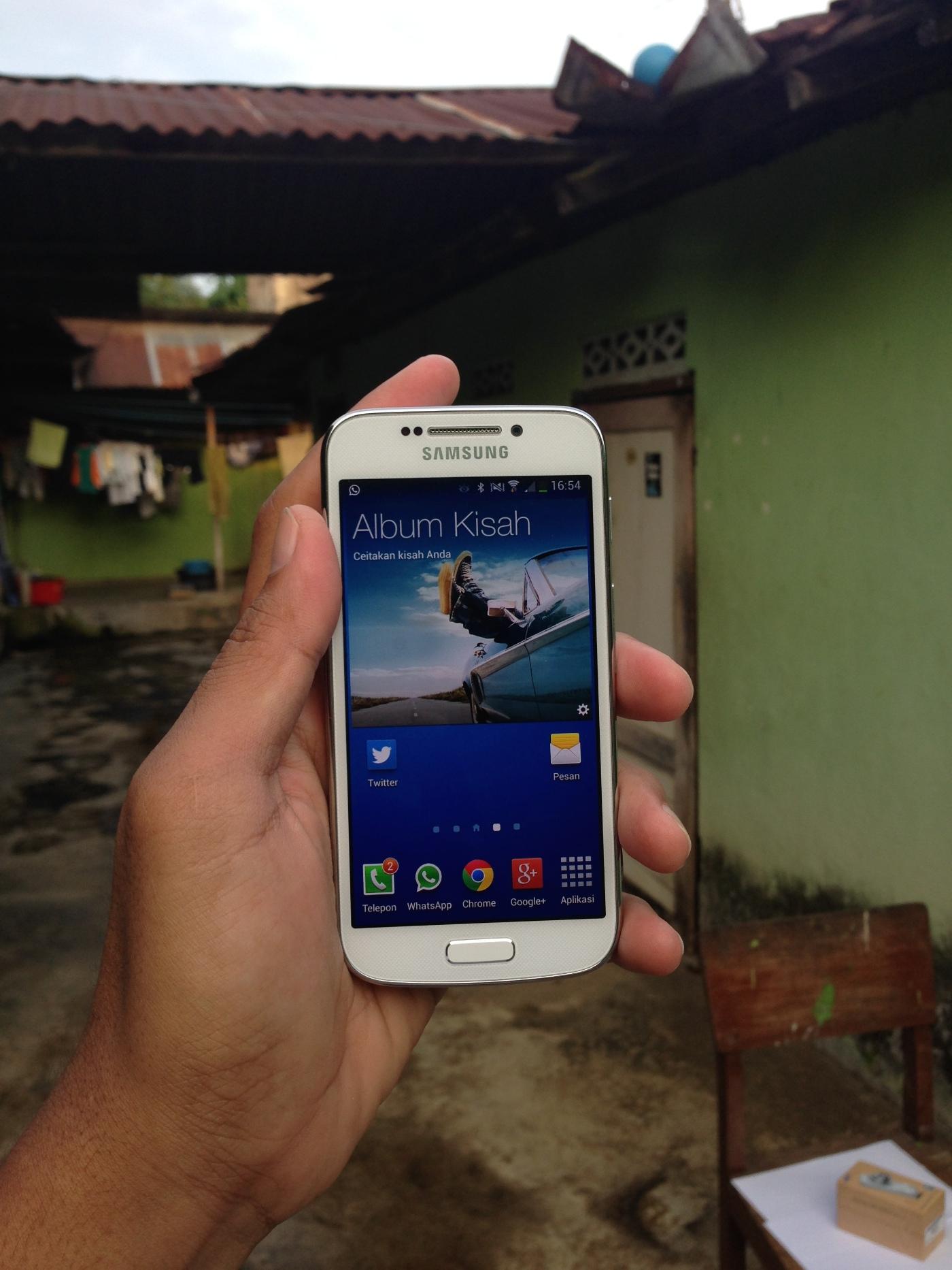 Nyaman di Tangan dan Fitur Komplit Galaxy S4 Zoom