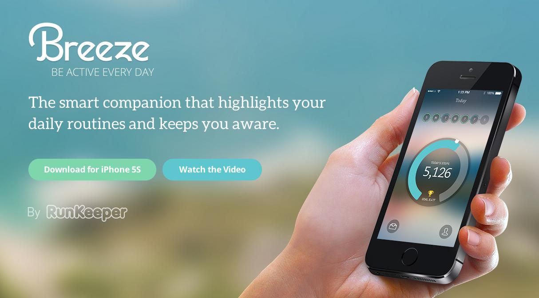 Breeze App yang keren buat iPhone 5s