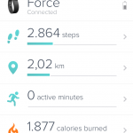 Hari ke Pertama bersama FitBit Force