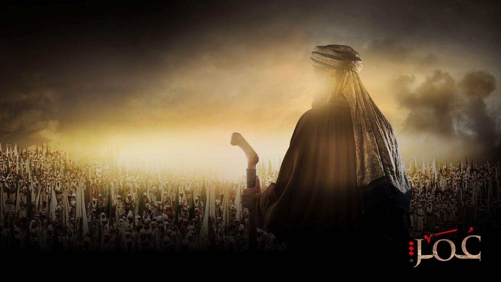 Gambar Illustrasi Umar Bin Khaththab
