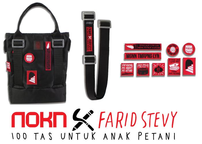 Dan ini Tas NOKN Bag Edisi Kolaborasi dengan Farid Stevy Asta