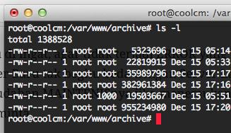 Ukuran File di Linux susah dimengerti