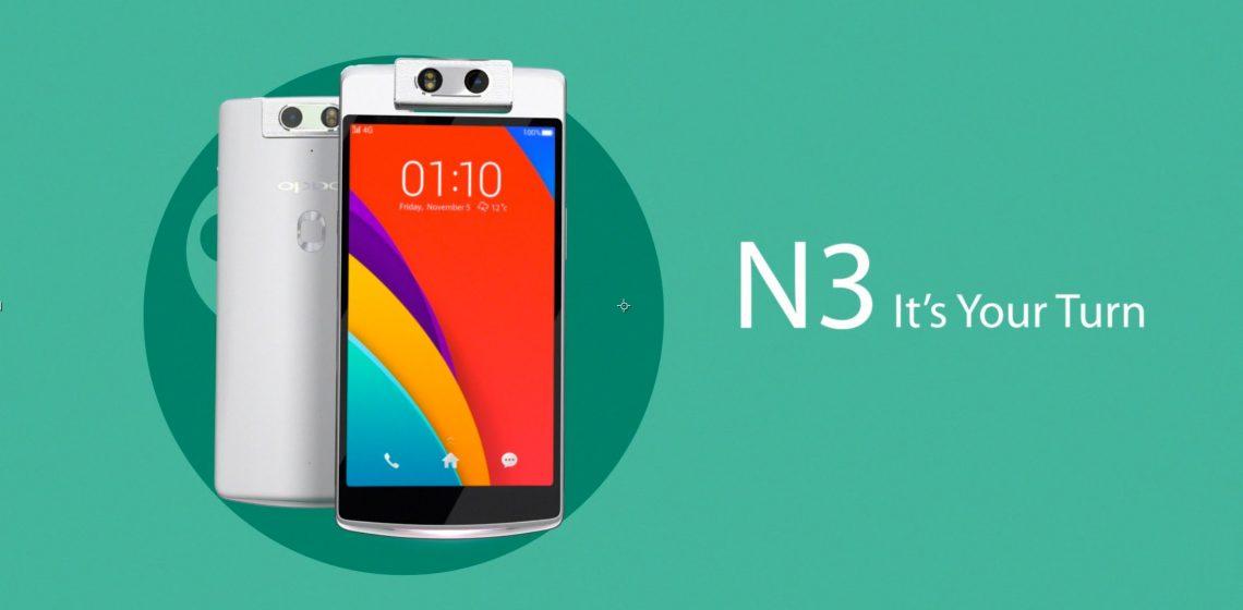 Opp N3 dengan Snapdragon 801