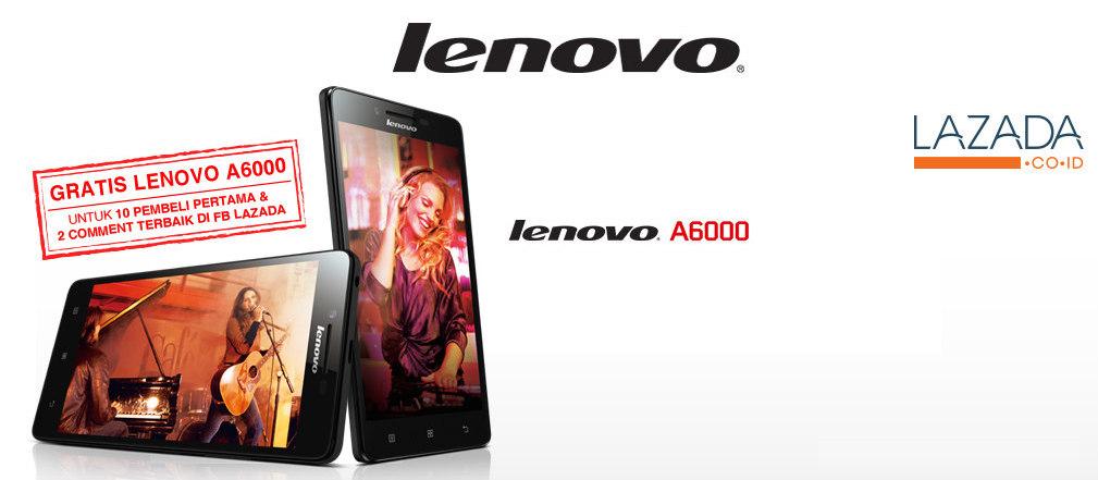 Lenovo A6000 Flash Sale Lazada