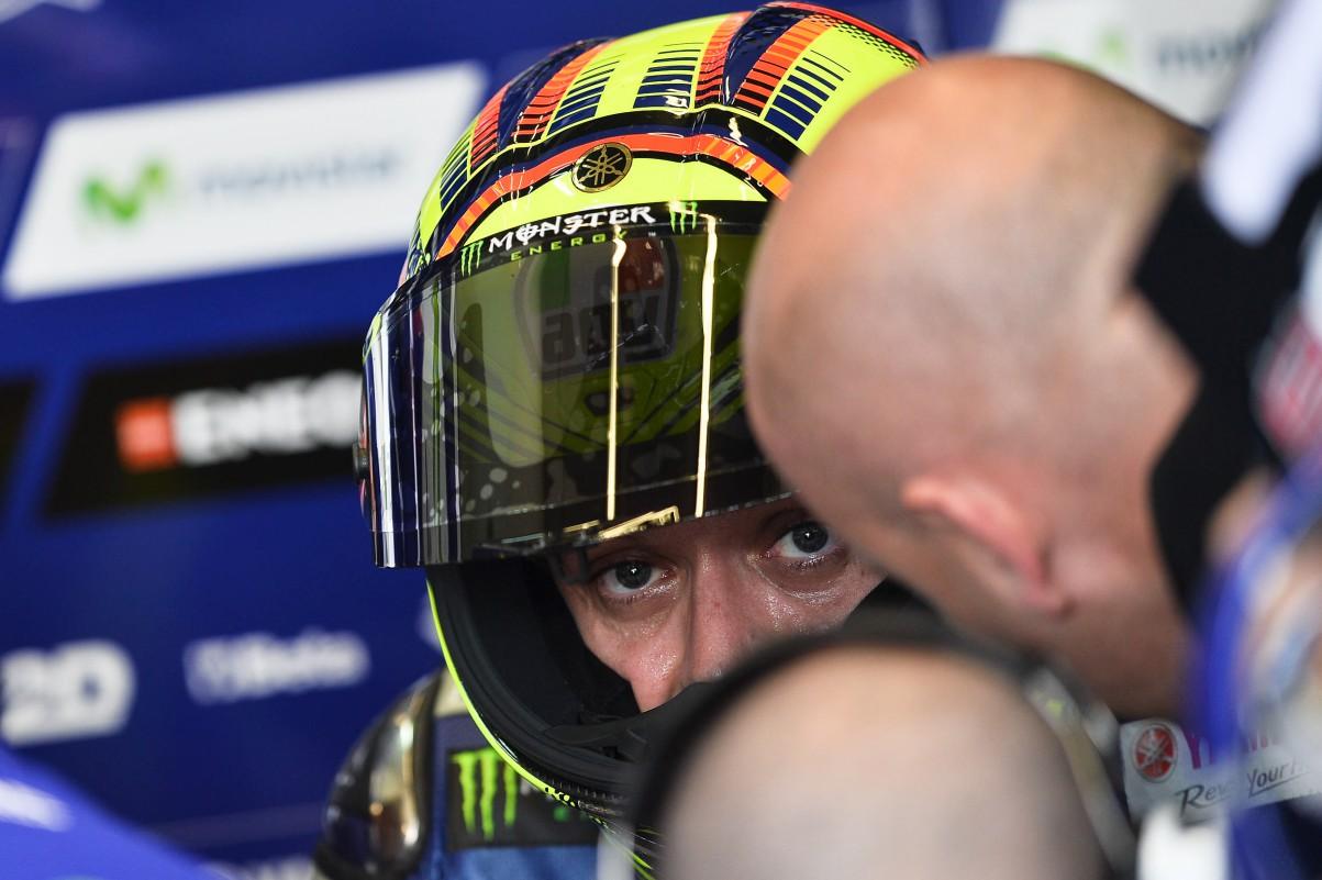Foto Valentino Rossi di Jerez MotoGP 2015