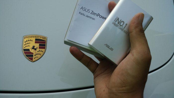 Asus ZenPower bersama Porche