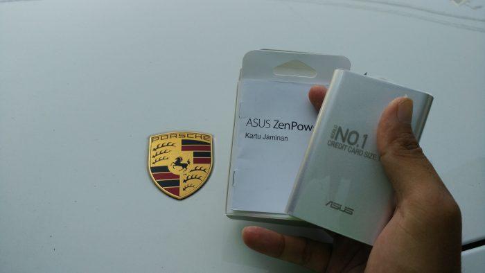 Inilah Asus ZenPower bersama Porche