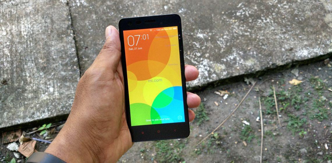 Sangat Terang Layar Xiaomi RedMi 2