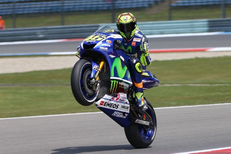 Valentino Rossi Pole Position di Assen Belanda MotoGP 2015