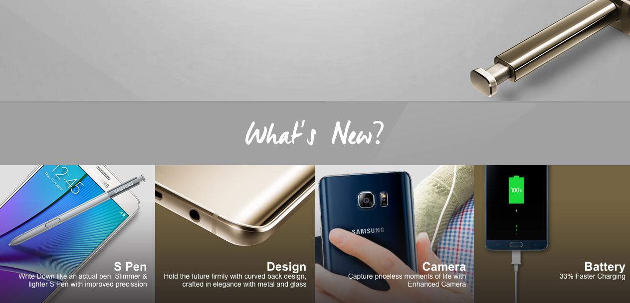 Teknologi Baru Samsung GALAXY Note 5
