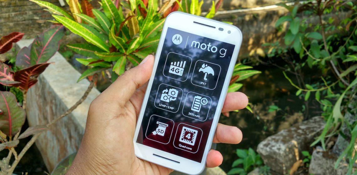 Moto G 2015 RAM 1GB ROM 8GB Indonesia