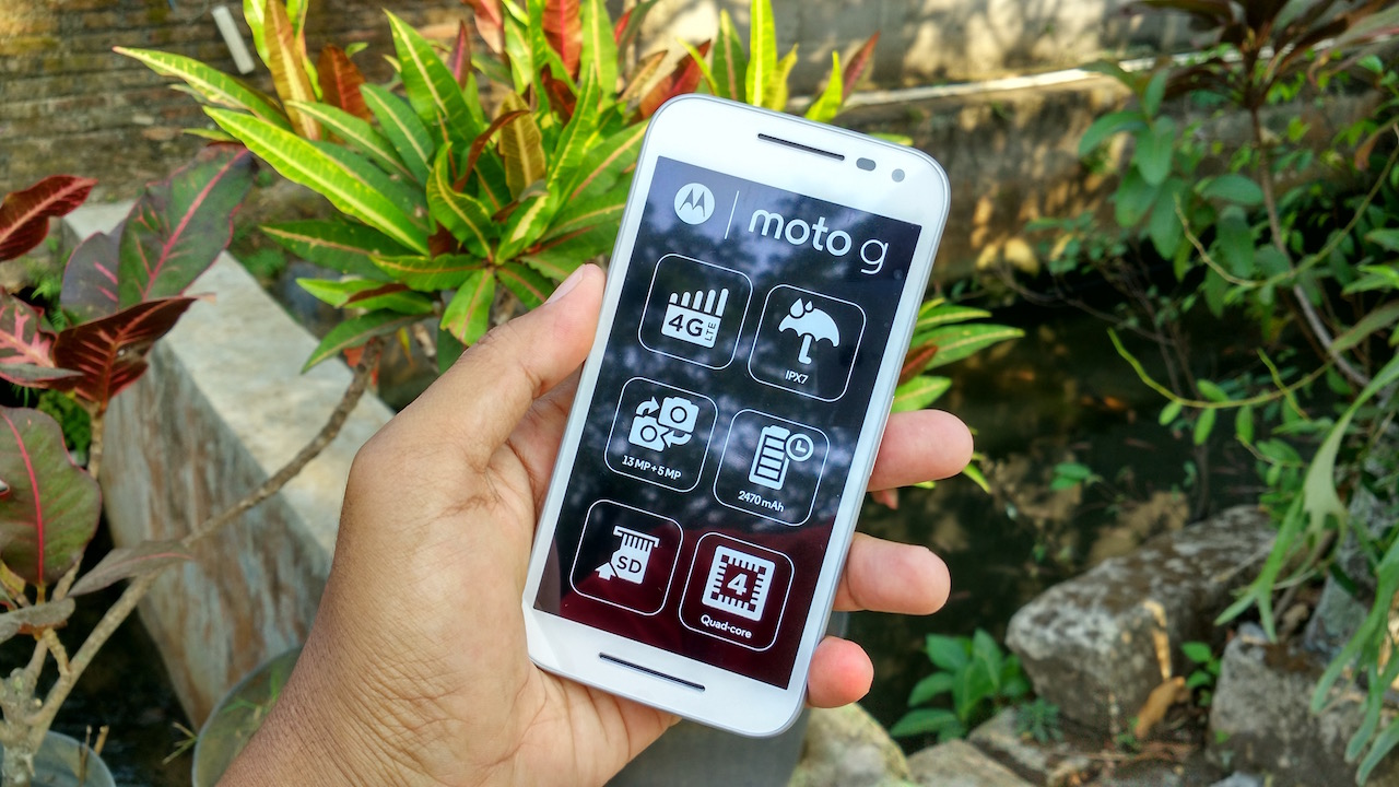 Moto G 2015 RAM 1GB ROM 8GB Indonesia