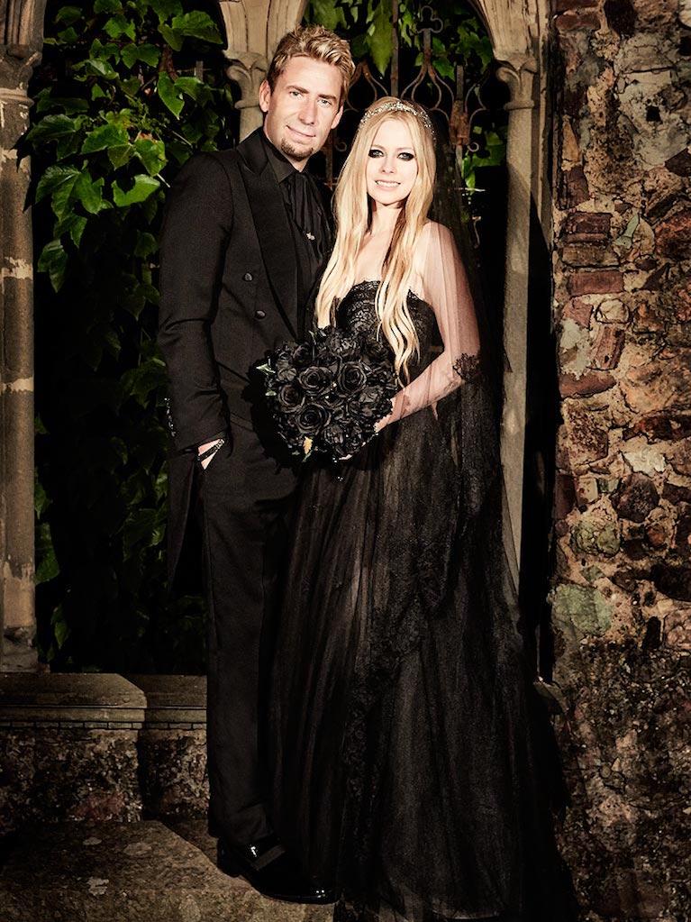 Avril Lavigne dan Card Kroeger sebelum pisahan