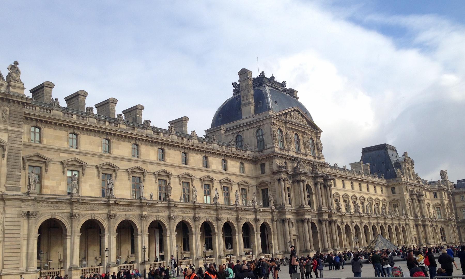 Bangunan di Kota Paris