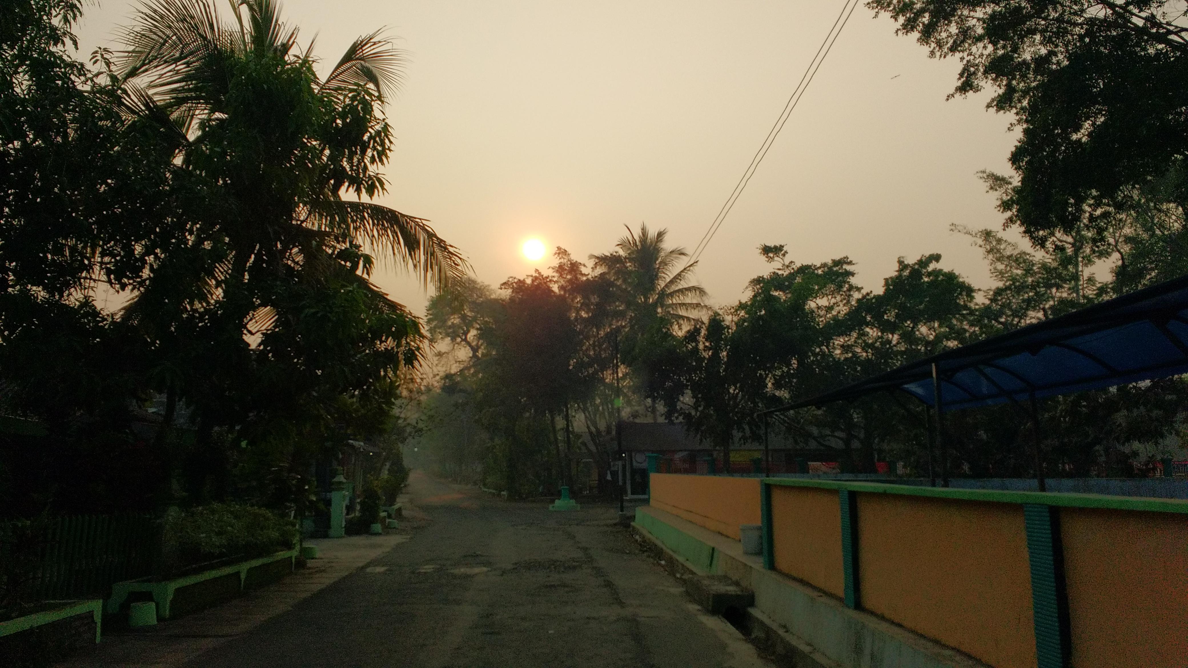 Sunrise dari Moto G 2015