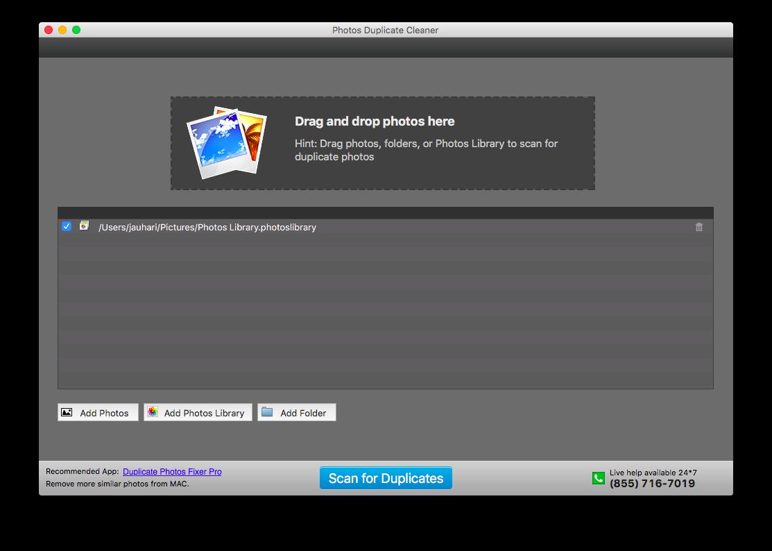 Kemudian Lakukan Scanning di Photos Duplicate Cleaner