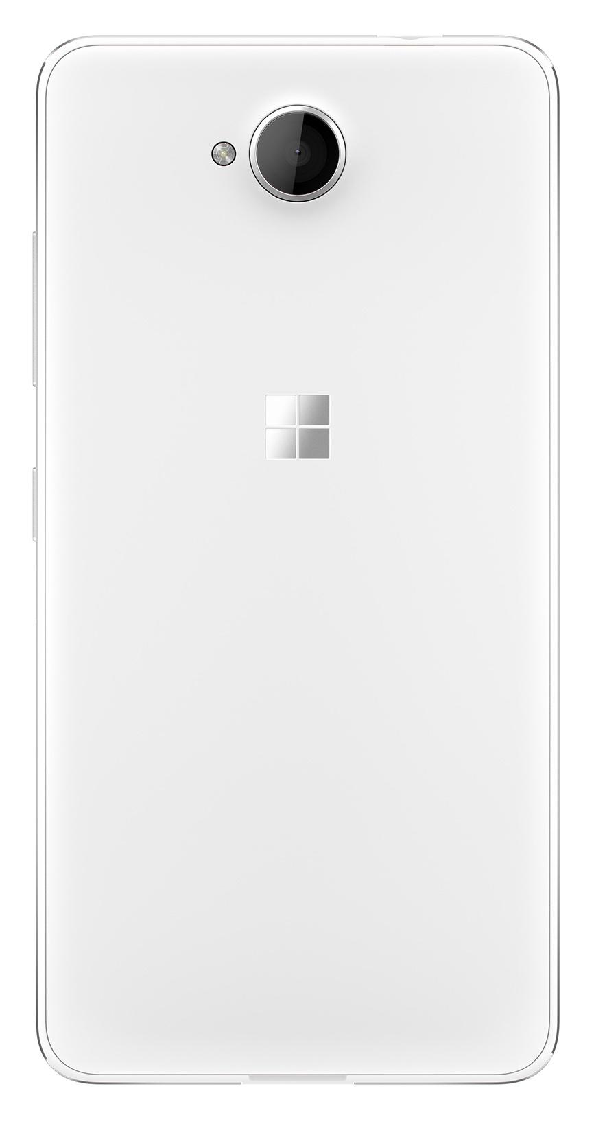 Microsoft Lumia 650 warna Putih belakang