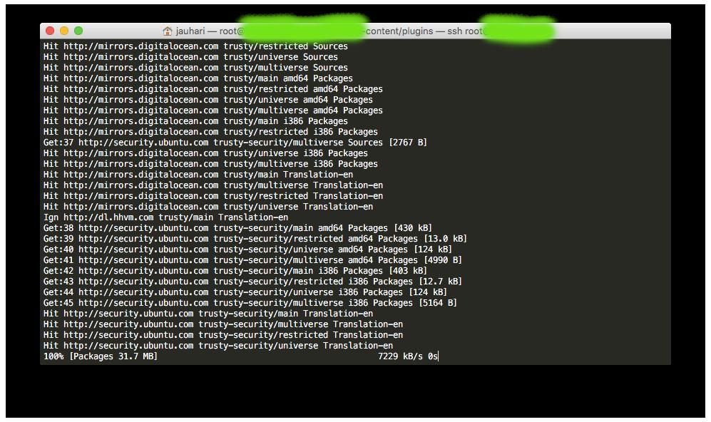 Login VPS Ubuntu