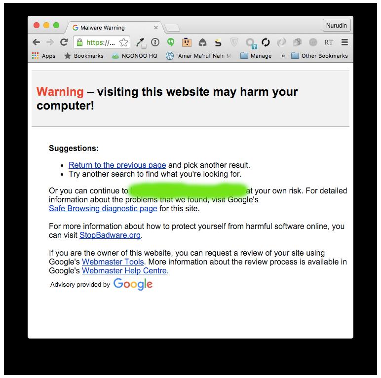 Penumpang Gelap : Malware di WordPress