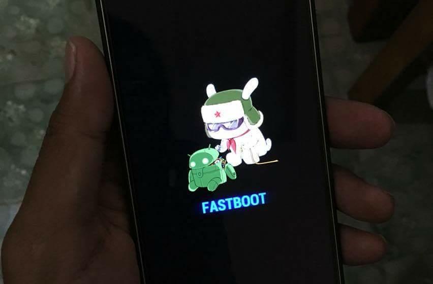 Fastboot Mode Mi 5 Pro