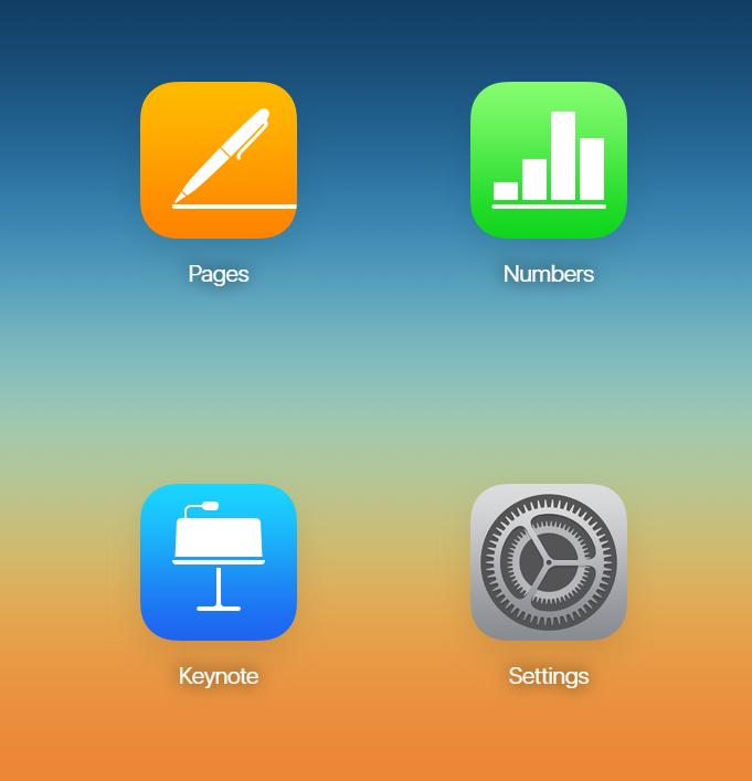 iCloud di Browser