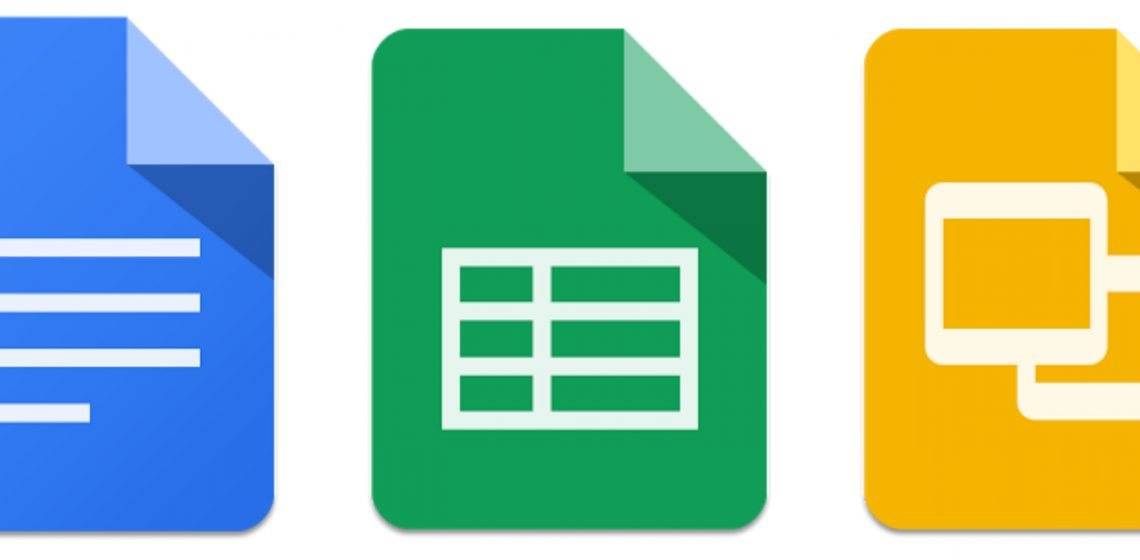 Google Docs Sheets dan Slides