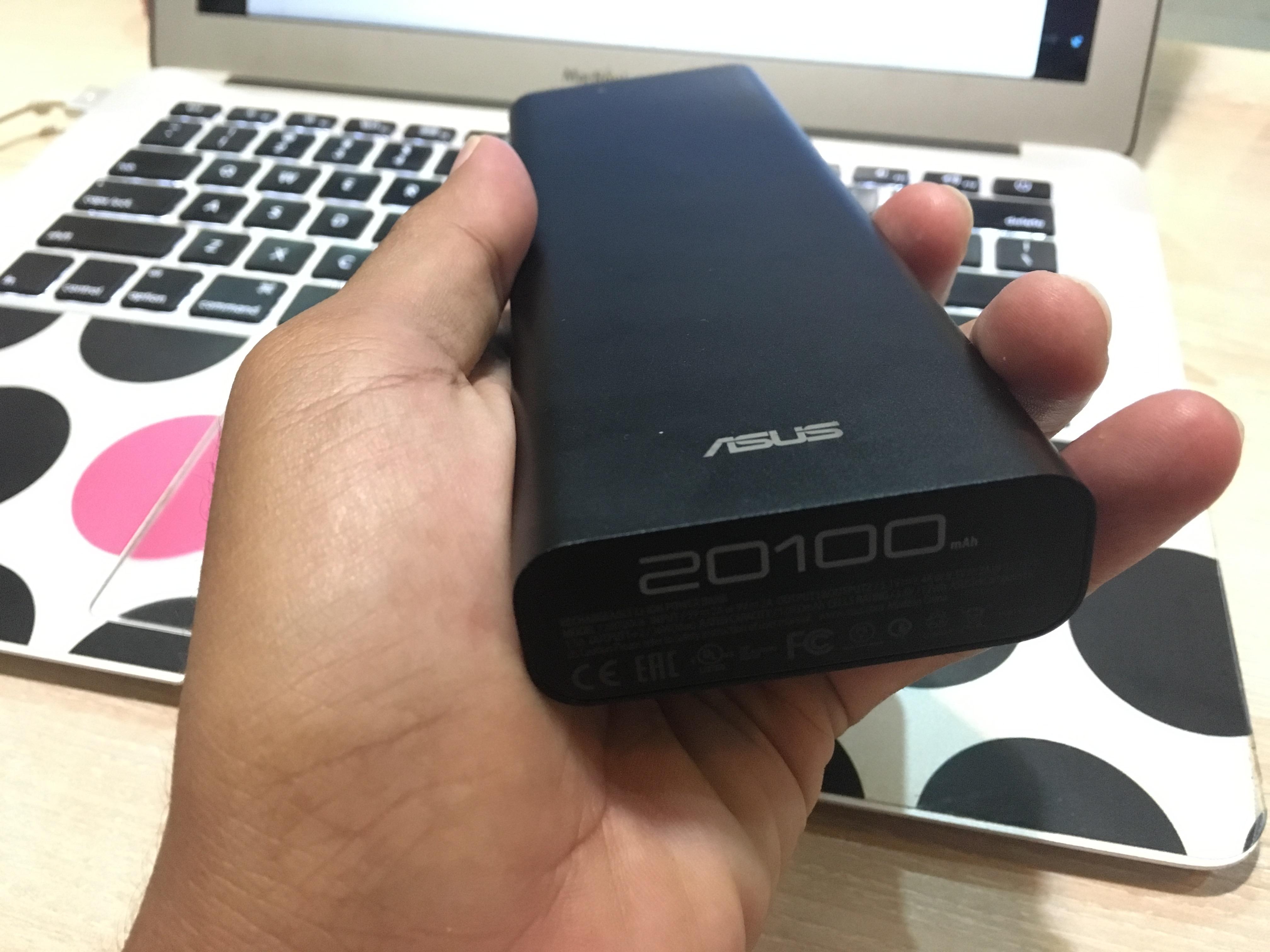 ZenPower Ultra Stylis dengan Warna Hitam Dove nya