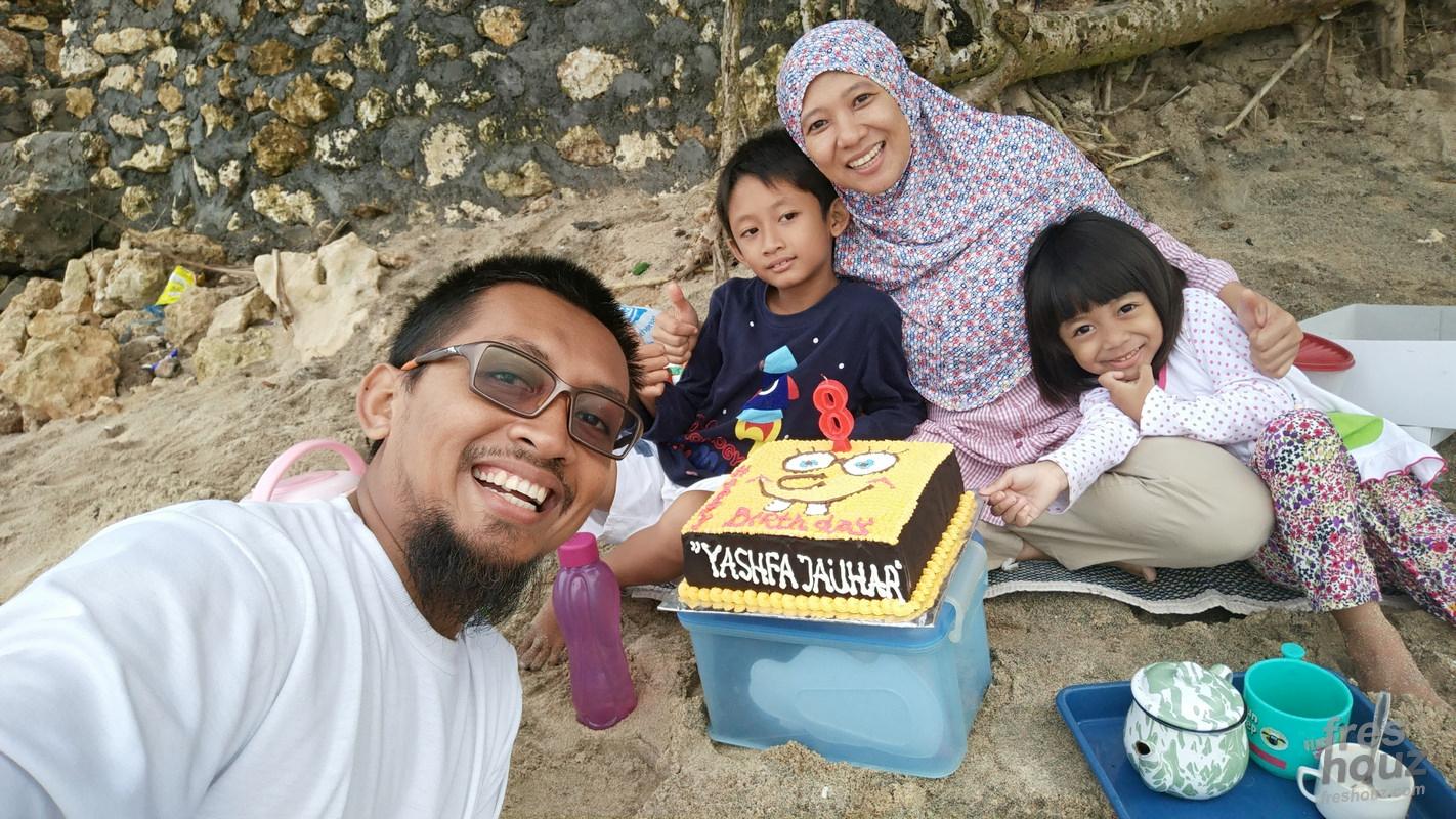 Hbd bang yashfa 8 tahun
