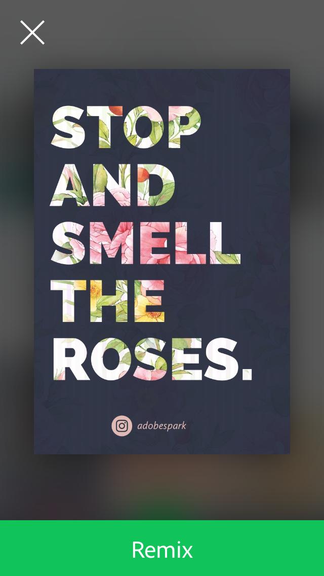 Adobe Spark Post Aplikasi Pembuat Quote Kata Mutiara Ucapan Di