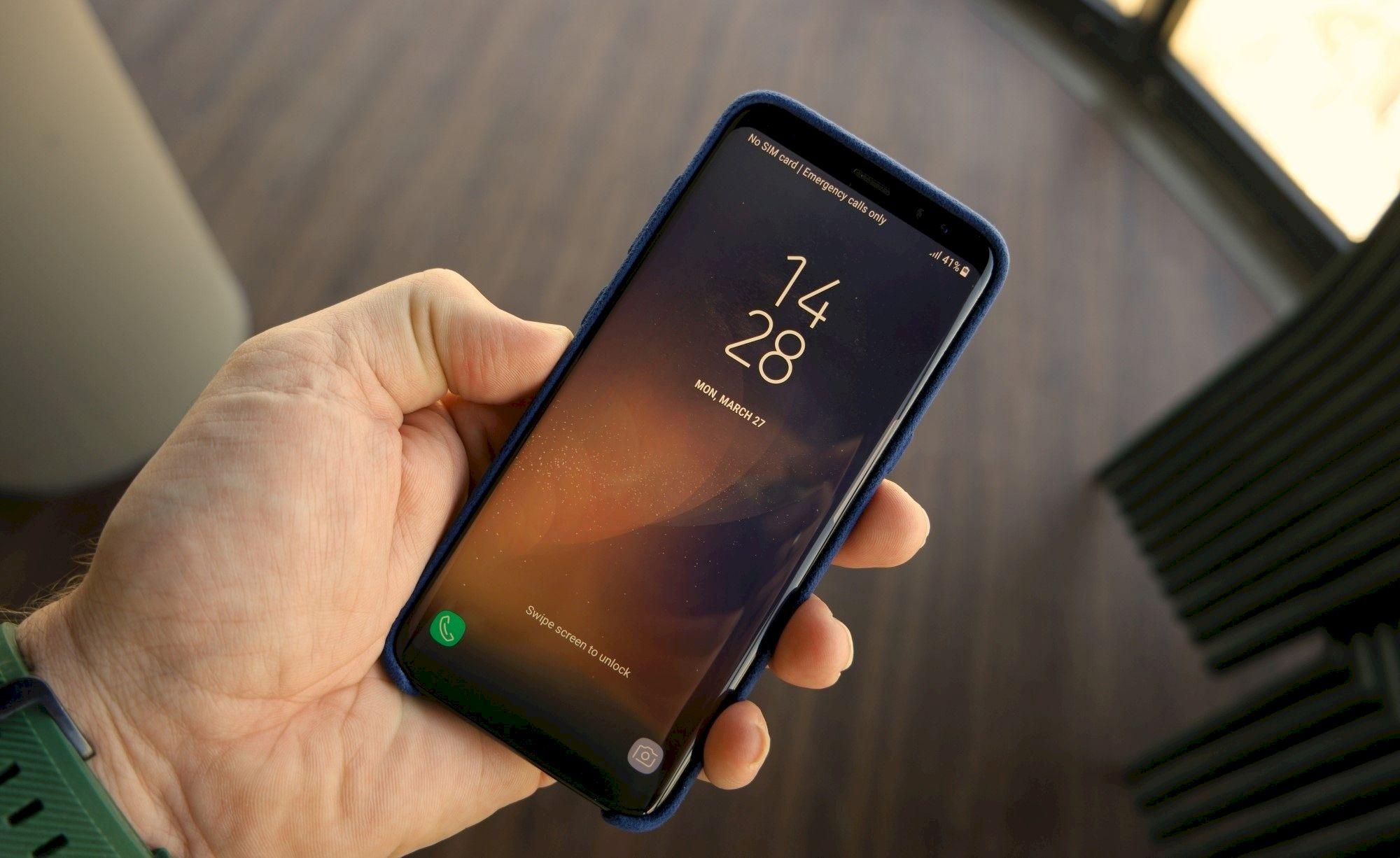 Samsung galaxy s8 keren