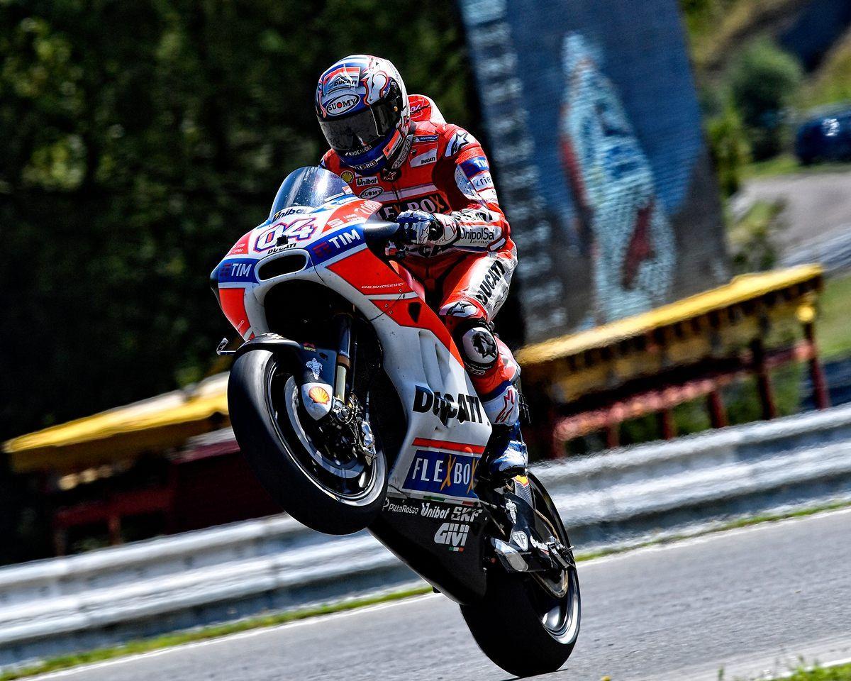 Andrea Dovizioso di Austria GP 2017