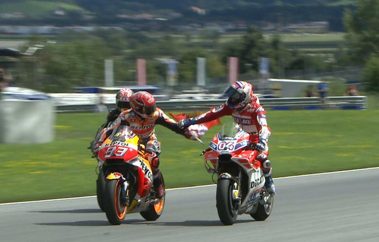 Marc dan Dovi Mereka Sportif Austria GP
