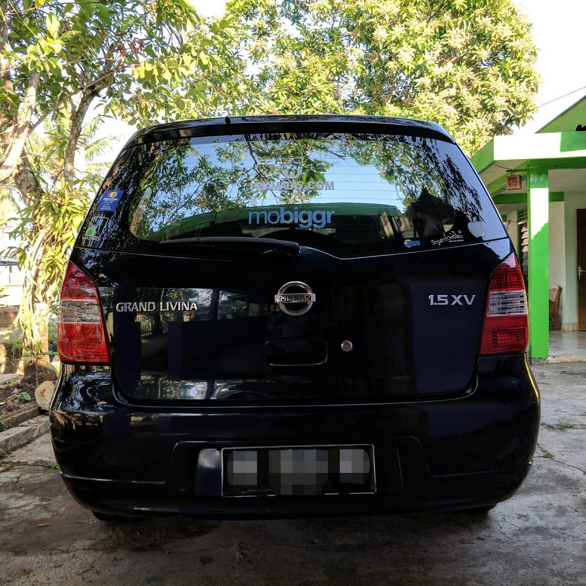Kinclongnya Grand Livina 1 5XV Ponjong