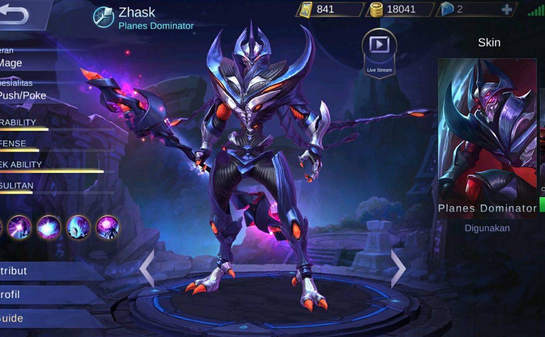 Hero Zhask Alien yang Cepat dan Kuat