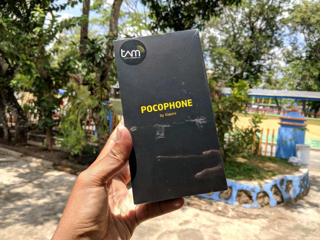 Xiaomi POCOPHONE F1 Steel Blue 6GB 128GB
