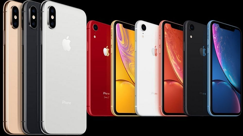 iPhone Xs iPhone Xs Max dan iPhone Xr