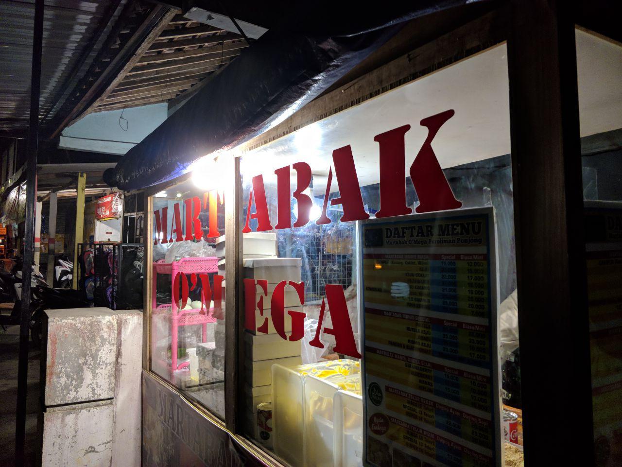 Martabak Omega Proliman Ponjong