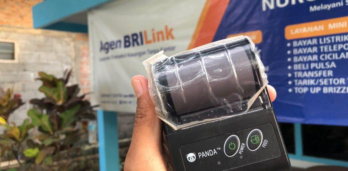 Panda Printer Bluetooth cocok buat BRILink Laku Pandai