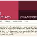 WordPress 5 3 yang BLOCKY banget