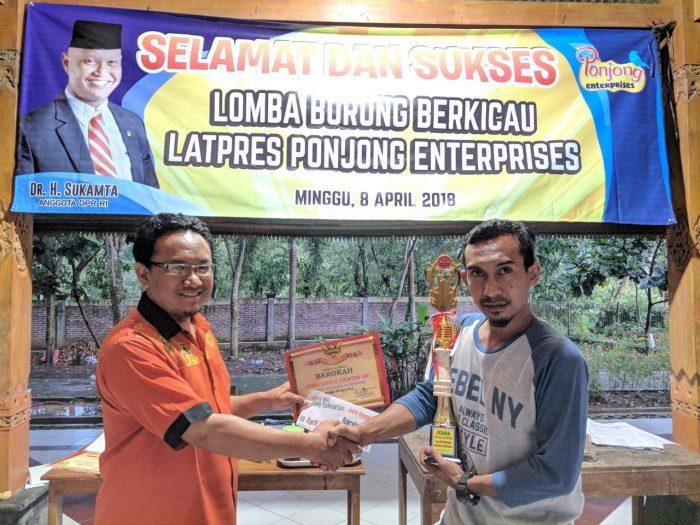 Wakhid Aryanto Carik Desa Ponjong LatPres April 2018