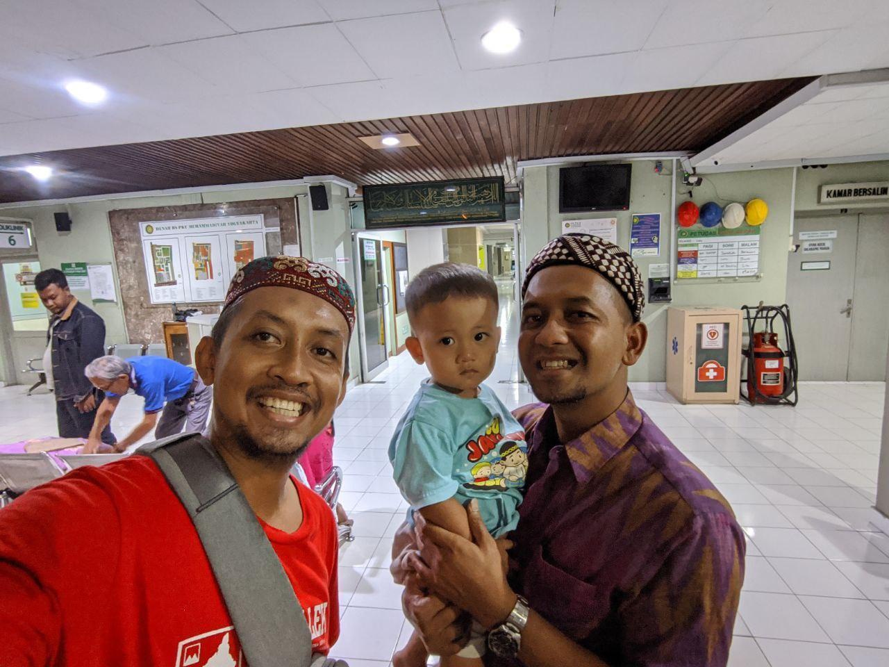 Jauhari Emil dan Danan Jaya di PKU Jogja